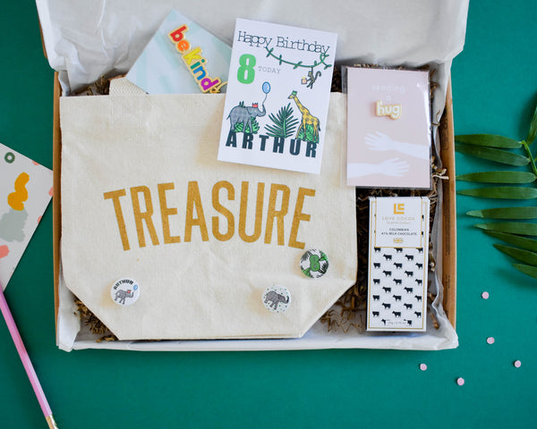 Build your own Jungle Birthday Letterbox Gift