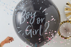 Gender Reveal Giant Balloon Kit