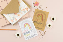 Rainbow Birthday Personalised Wildflower Seed Packet