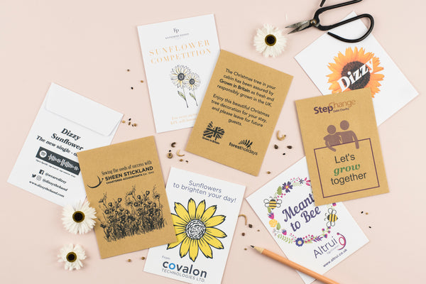 Bespoke Design Seed Packet