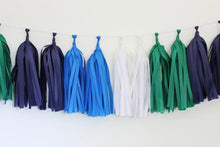 Nautical Tissue Paper Tassel Garland Kit
