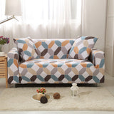 Elastic Stretch Sofa Cover for Loveseat Chair ( 2 Sofa Case for L-Style)