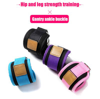 Ankle Straps Cuff with Cable for Attachment / Resistance Bands