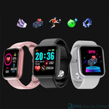 Smart Watch for Fitness / Bluetooth Technology