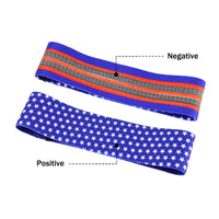 Printed Pattern Hip Resistance Booty Bands