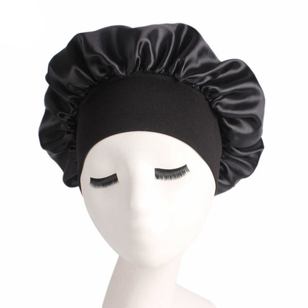 Satin Solid Sleeping Cap