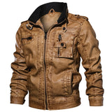High Quality Genuine Leather Biker Jacket