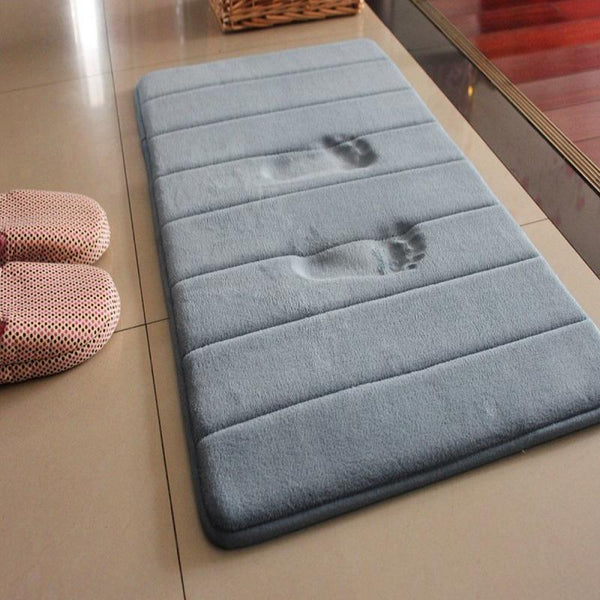 Anti Slip Memory Foam Bathroom Mat
