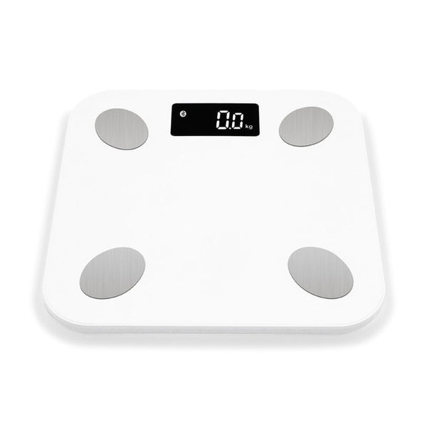 Bluetooth Body Weight BMI Bathroom Scale w/ Smart Backlit Display