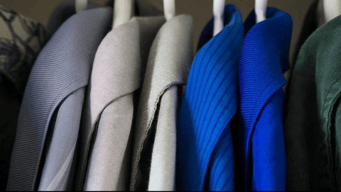Shirt on hanger - F&f laundry dry cleaning factory