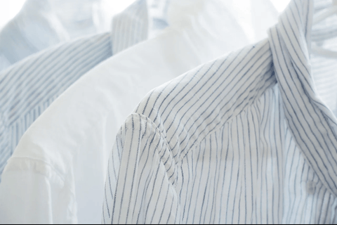 Reverse collar - shirt - F&f laundry dry cleaning factory
