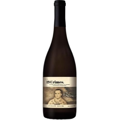 19 Crimes The Punishment Pinot Noir, South Eastern, Australia 2019
