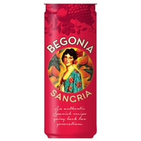 Begonia Sangria, Spain NV 330ml Can Case (12)