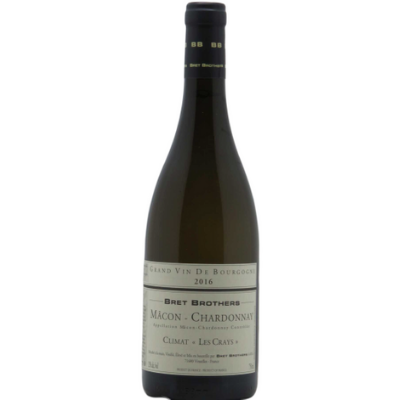 Bret Brothers Macon Chardonnay Climat Les Crays, Burgundy, France 2016