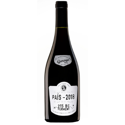 Garage Wine Co. Single Ferment Series ' 215 BC Ferment' Pais, Maule Valley, Chile 2018