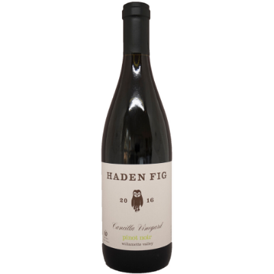 Haden Fig Cancilla Vineyard Pinot Noir, Willamette Valley, USA 2016