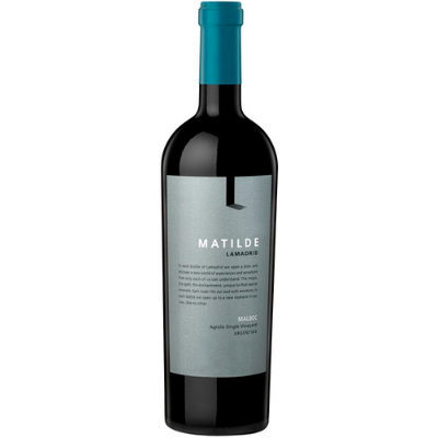 Lamadrid 'Matilde' Single Vineyard Malbec, Agrelo, Argentina 2013