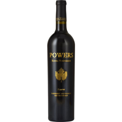 Powers Kiona Vineyard Reserve Cabernet Sauvignon, Red Mountain, USA 2014