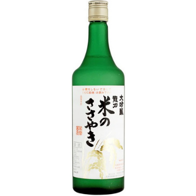 Tatsuriki 'Kome no Sasayaki' Daiginjo Sake, Japan NV 720ml