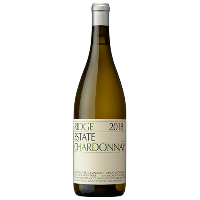 Ridge Vineyards Estate Chardonnay, Monte Bello, Santa Cruz Mountains, USA 2018