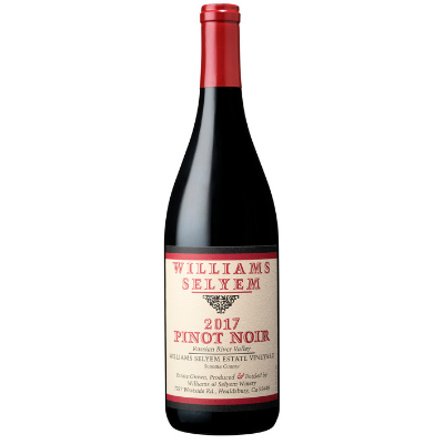 Williams Selyem Estate Vineyard Pinot Noir Russian River Valley, USA 2017