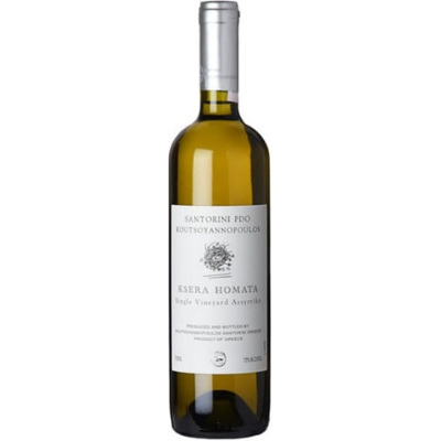 Volcan Wines Koutsoyannopoulos Winery 'Ksera Homata' Single Vineyard Assyrtiko, Santorini, Greece 2019