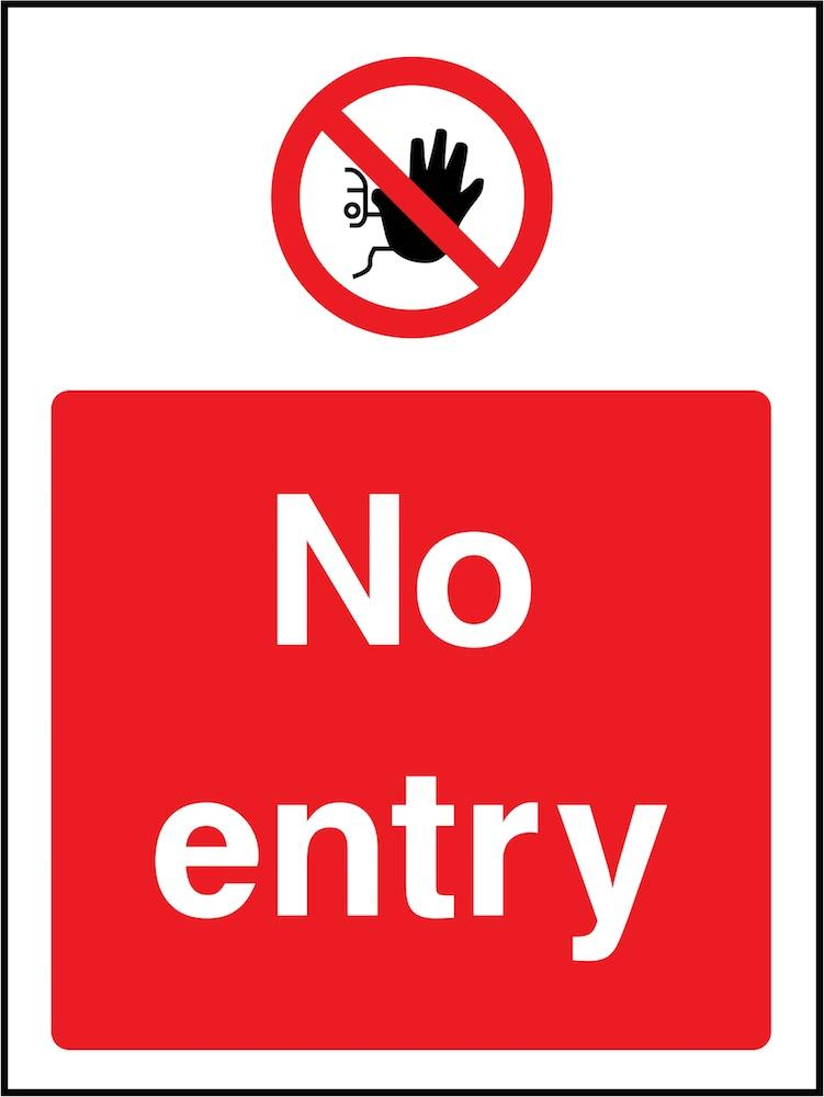 No Entry Sign | Elevate Signs