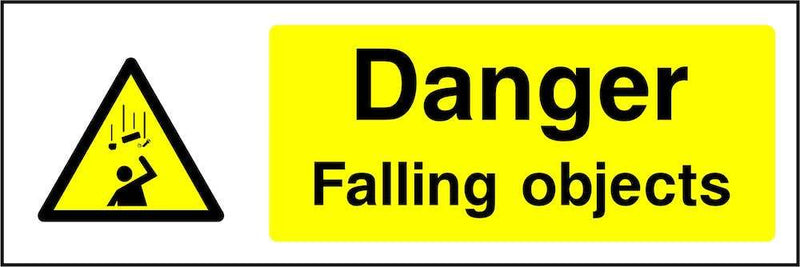 Danger: Falling Objects Sign | Elevate Signs