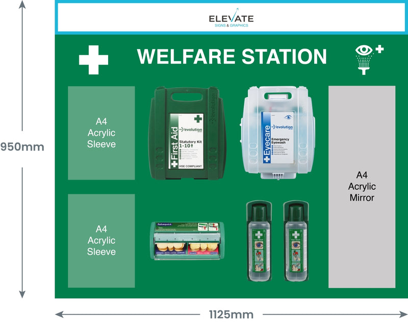 Large Customisable First Aid Station