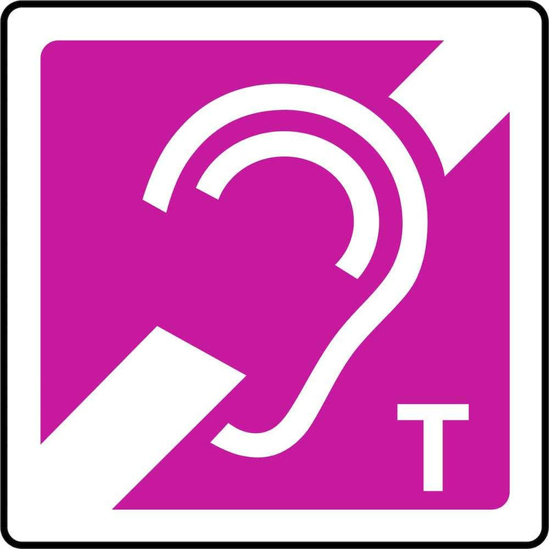 Hearing Loop (Telecoil) Sign | Elevate Signs