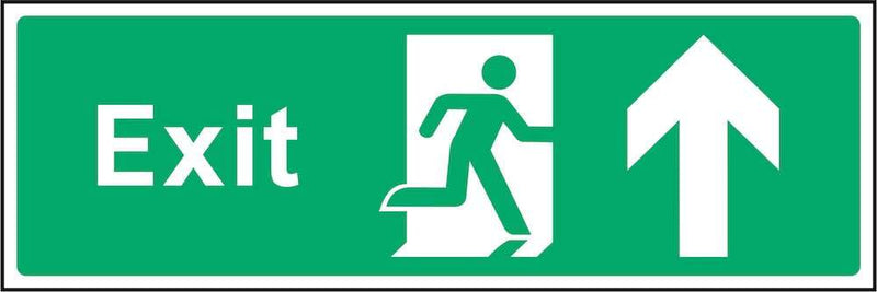 Exit Sign: Forward Arrow | Elevate Signs