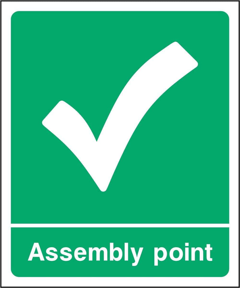 Assembly Point Sign: Tick | Elevate Signs