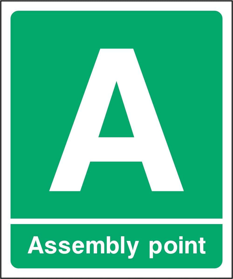 Assembly Point A Sign | Elevate Signs
