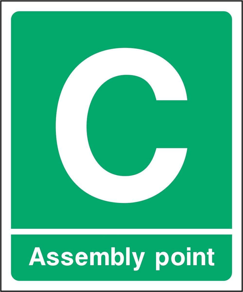 Assembly Point C Sign | Elevate Signs