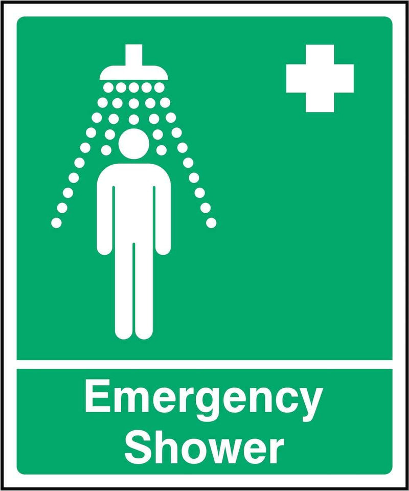 First Aid Sign: Emergency Shower | Elevate Signs