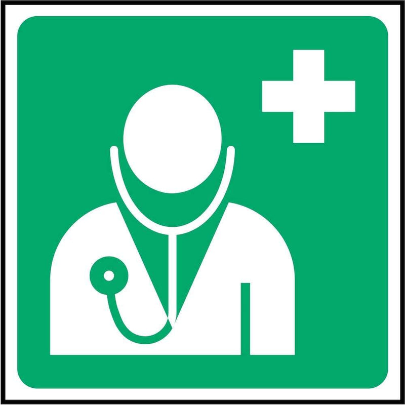 First Aid Sign: Doctor (Image-Only) | Elevate Signs