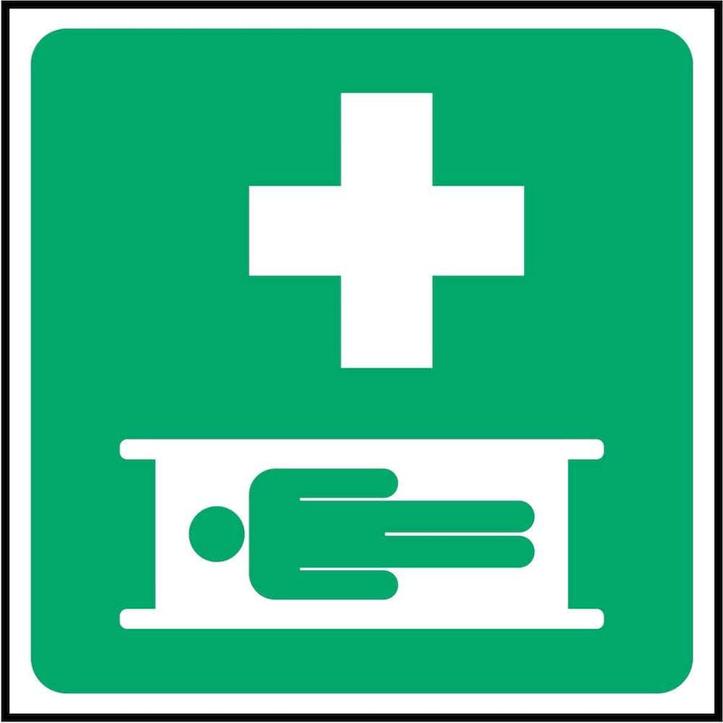 First Aid Sign: Stretcher (Image-Only) | Elevate Signs