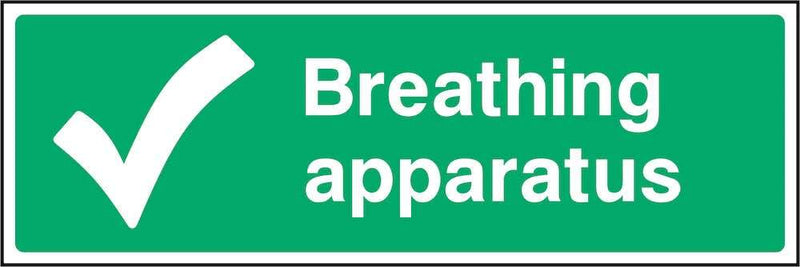 First Aid Sign: Breathing Apparatus | Elevate Signs