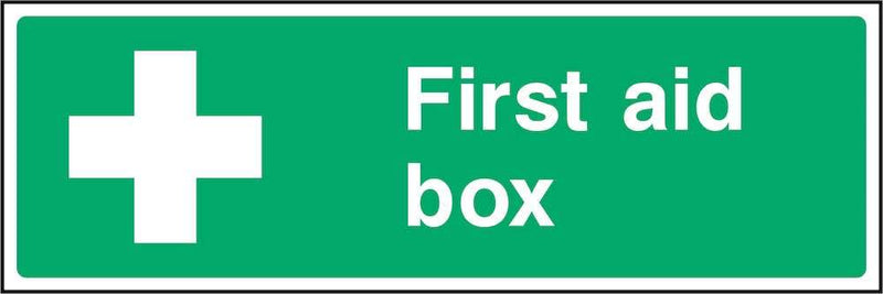 First Aid Sign: First Aid Box | Elevate Signs