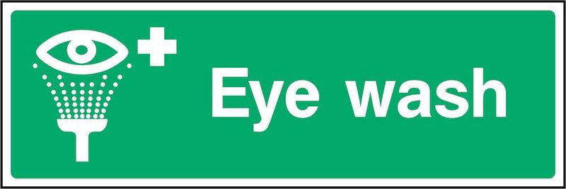 First Aid Sign: Eye Wash | Elevate Signs