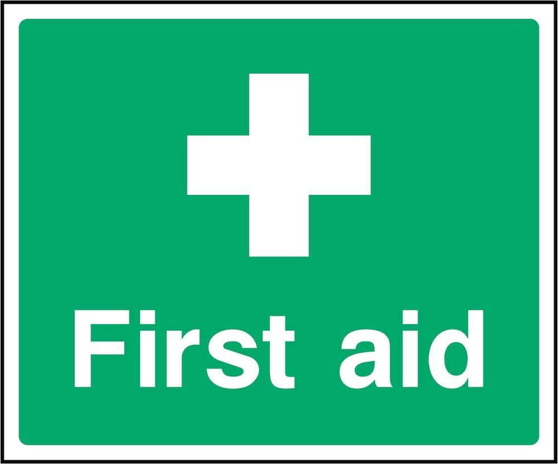Green First Aid Sign | Elevate Signs