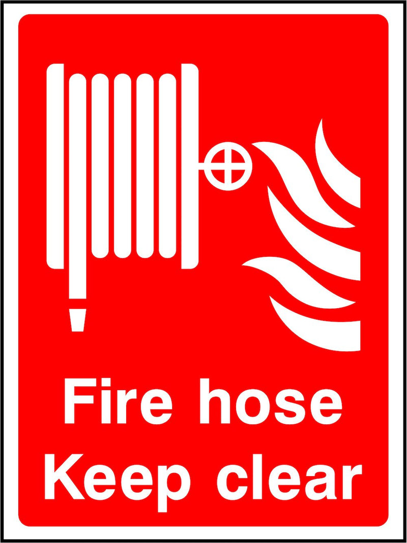 Fire Hose, Keep Clear Sign | Elevate Signs