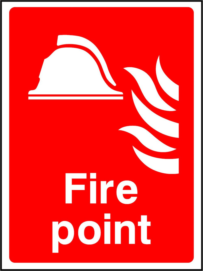 Fire Point Sign | Elevate Signs
