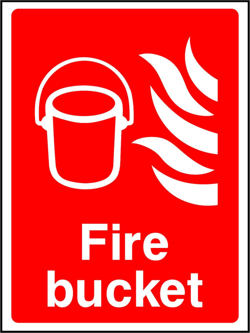 Fire Bucket Sign | Elevate Signs