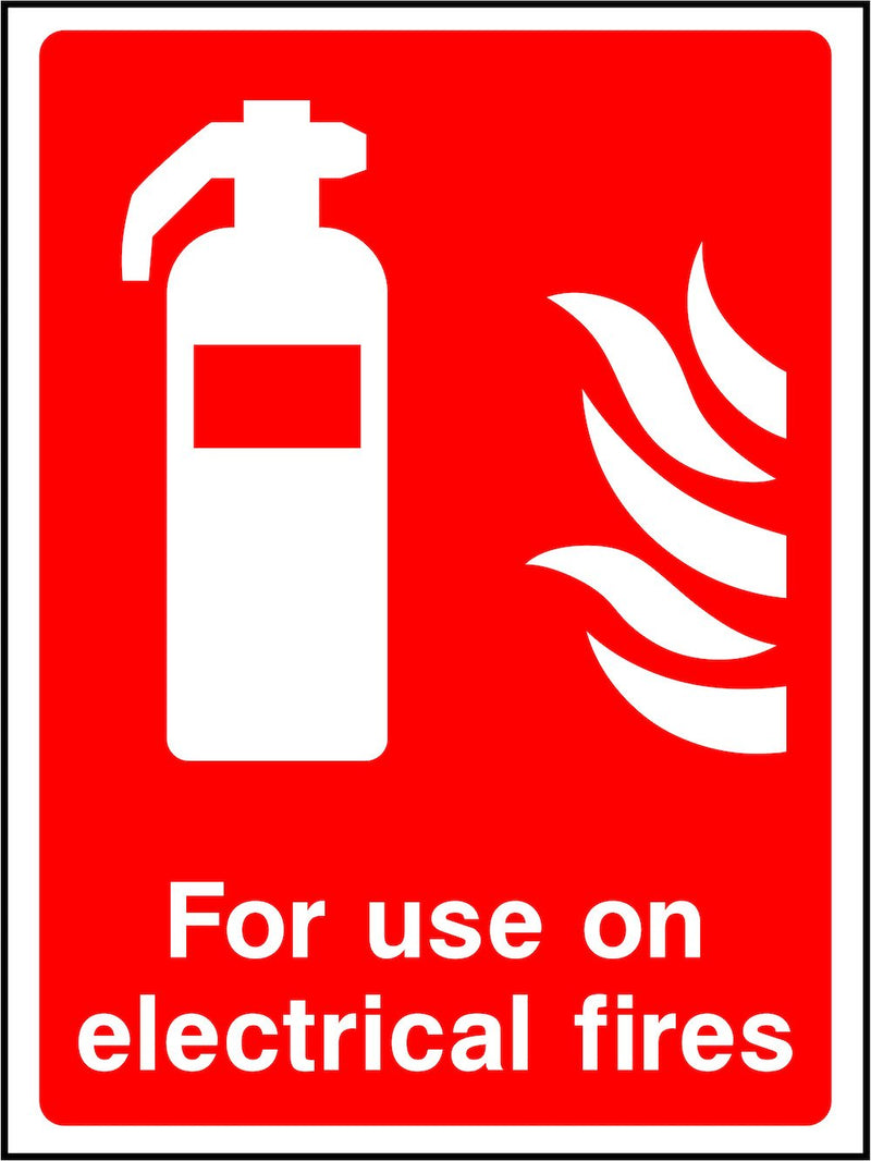 Electrical Fire Extinguisher Sign | Elevate Signs