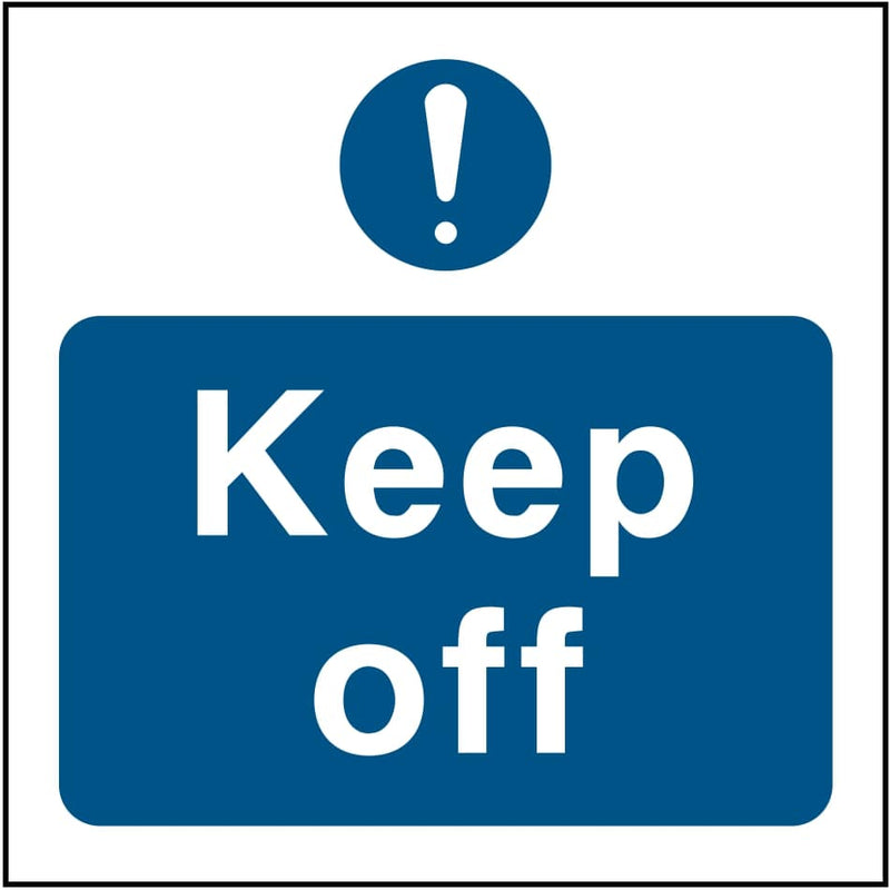 Emergency Escape Sign: Keep Off | Elevate Signs