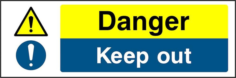 Danger Sign: Keep Out | Elevate Signs