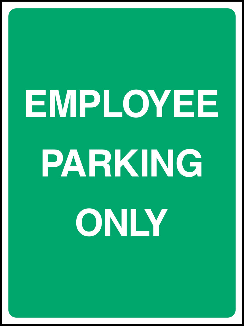 Employee Parking Only Sign | Elevate Signs