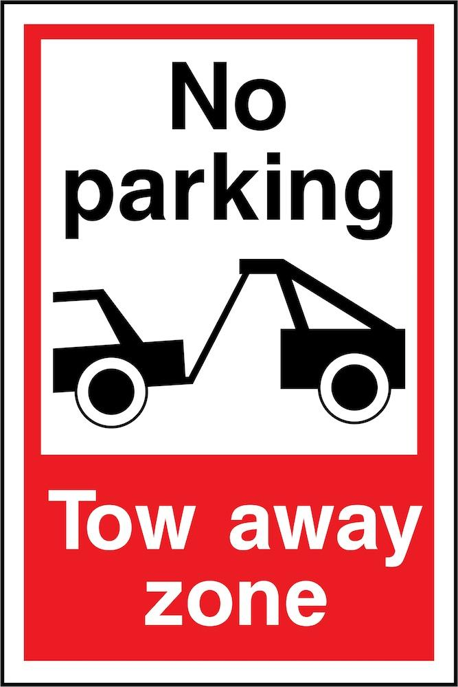No Parking, Tow Away Zone Sign | Elevate Signs