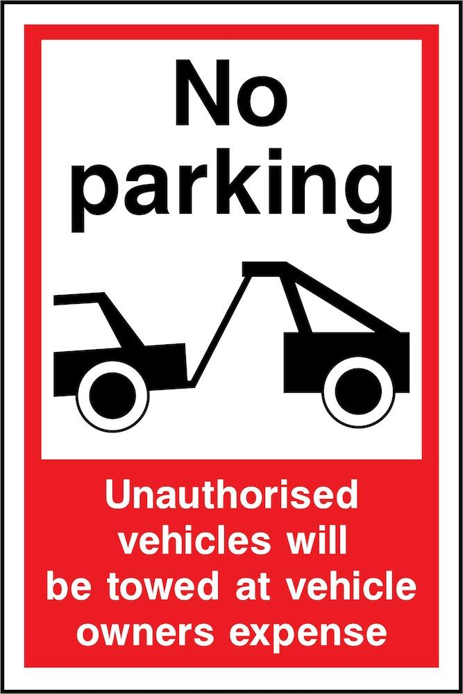 No Parking, Towed At Owners Expense Sign | Elevate Signs